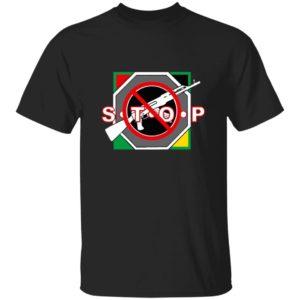 Barriers World Wide Merch End Gun Violence T Shirt