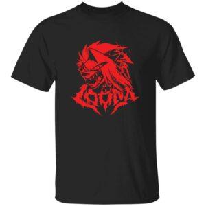 Vivziepop Merch Heavy Metal Loona Variant Shirt Shark Robot