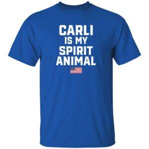 American Carli Is My Spirit Animal T Shirt Heath One Of Our Own